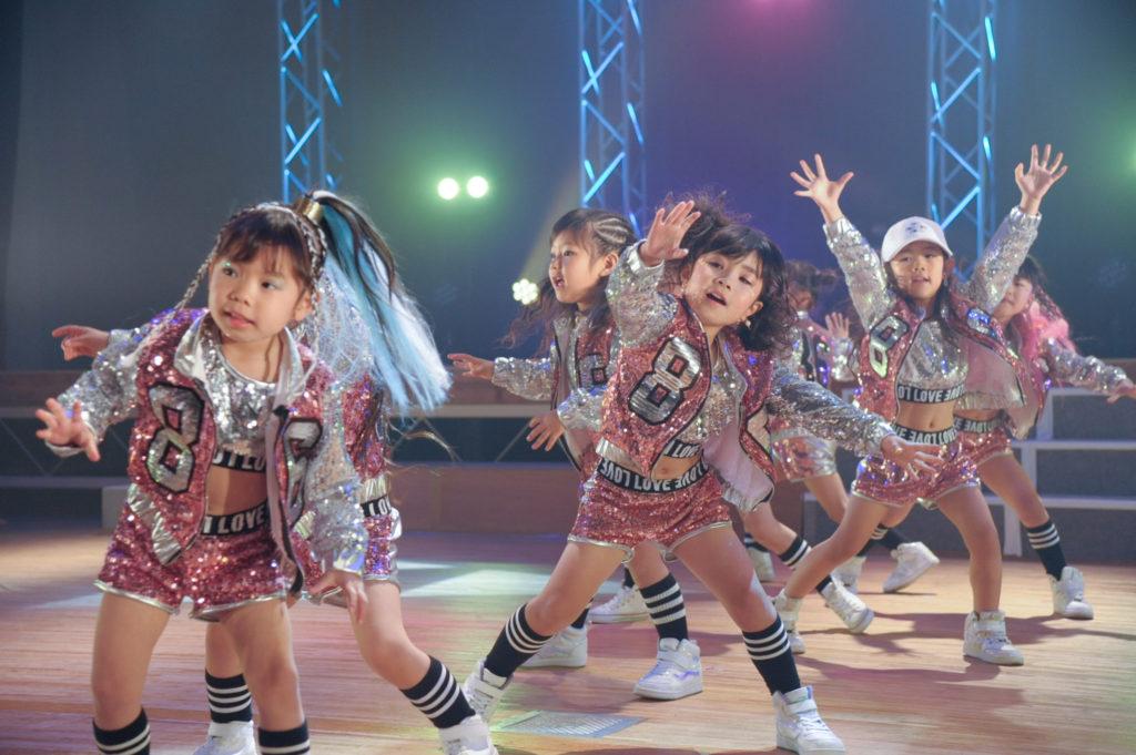 D-LIFEダンススクールの子ども達